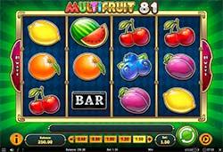 Multifruit 81 Slot